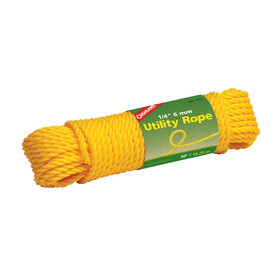 Coghlans Utility Seil 15m x 6mm gelb